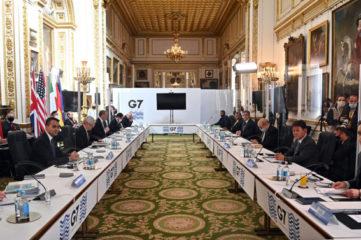 G7峰会谴责中俄霸凌 关注台海局势