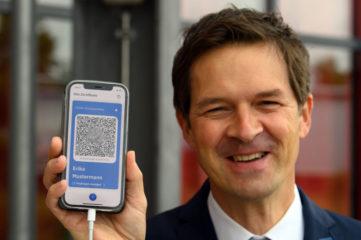 德国数字疫苗护照周四上路 重要信息汇总