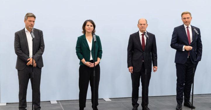 """德国""""红绿灯""""正式开启组阁谈判 拟年内组建新政府"""